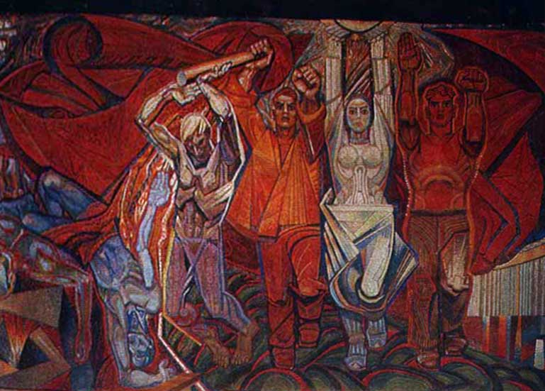 Живопись по-худсоветски