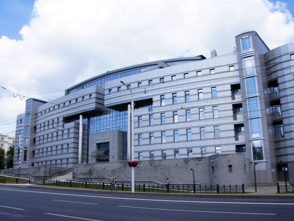 Здание Пенсионного фонда в Уфе