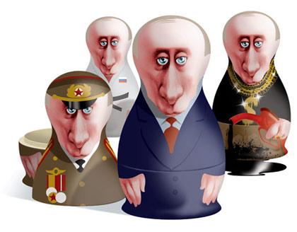 Путин-матрешки