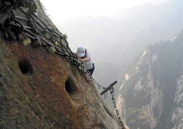 Страшная китайская дорога