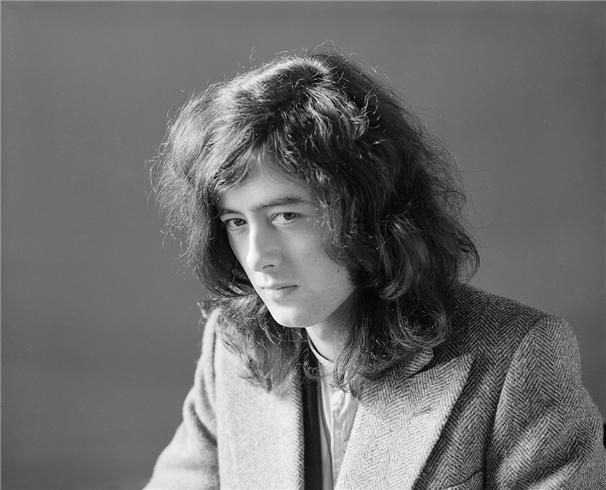 Jimmy Page by Herb Greene