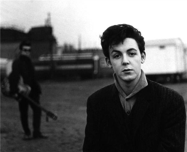 Paul McCartney 1960 by Astrid Kirschherr