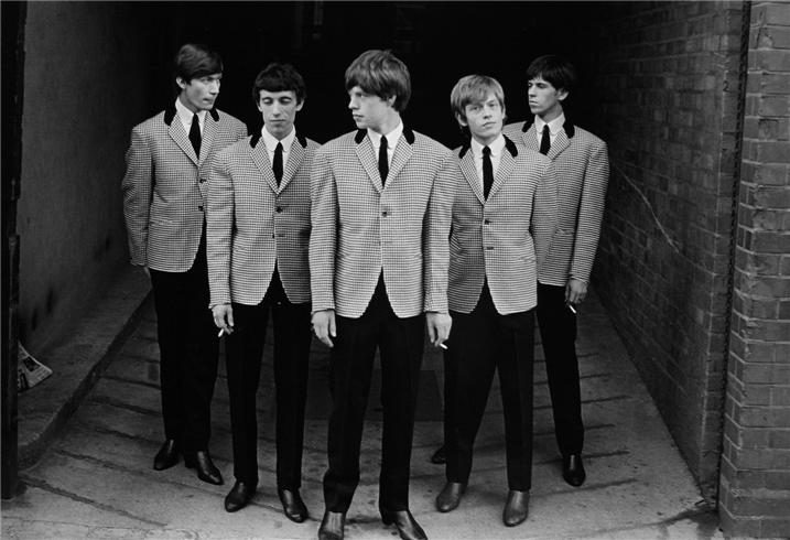 Rolling Stones 1963 by Philip Townsend