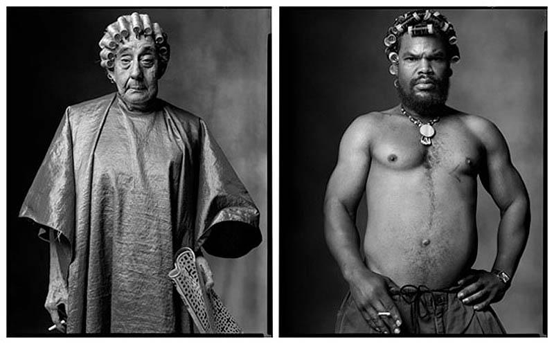 Посетительница косметического кабинета | Человек в бигуди, 2005-2004 гг
