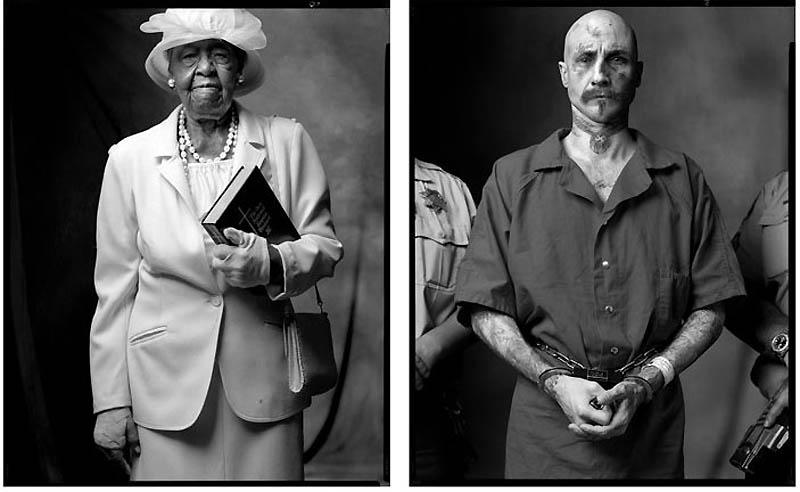 Прихожанка баптистской церкви | Заключенный-расист, сторонник господства белых, 2004-2003 гг
