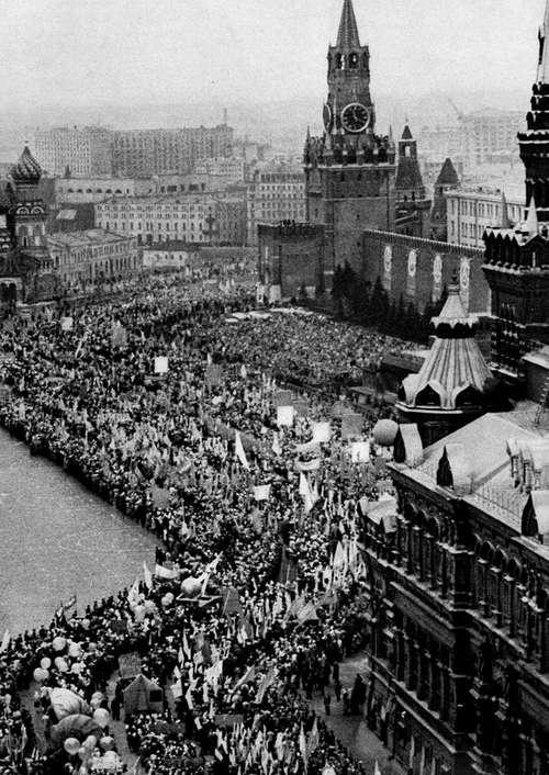 Очередь, как сакральное советское явление