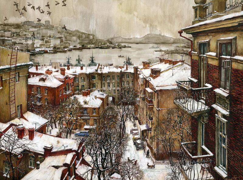 Евгений и Оксана Осиповы - Владивосток
