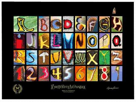Batterfly Alphabet