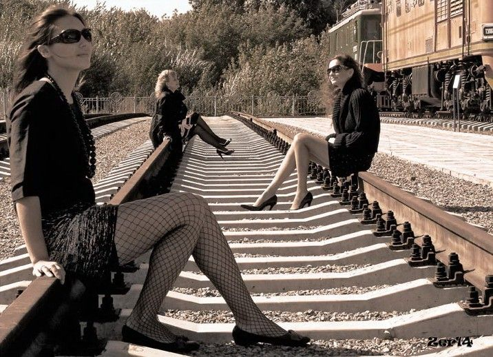 Девки на рельсах