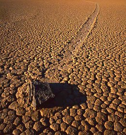 Moving stones Живые камни, перемещающиеся камни