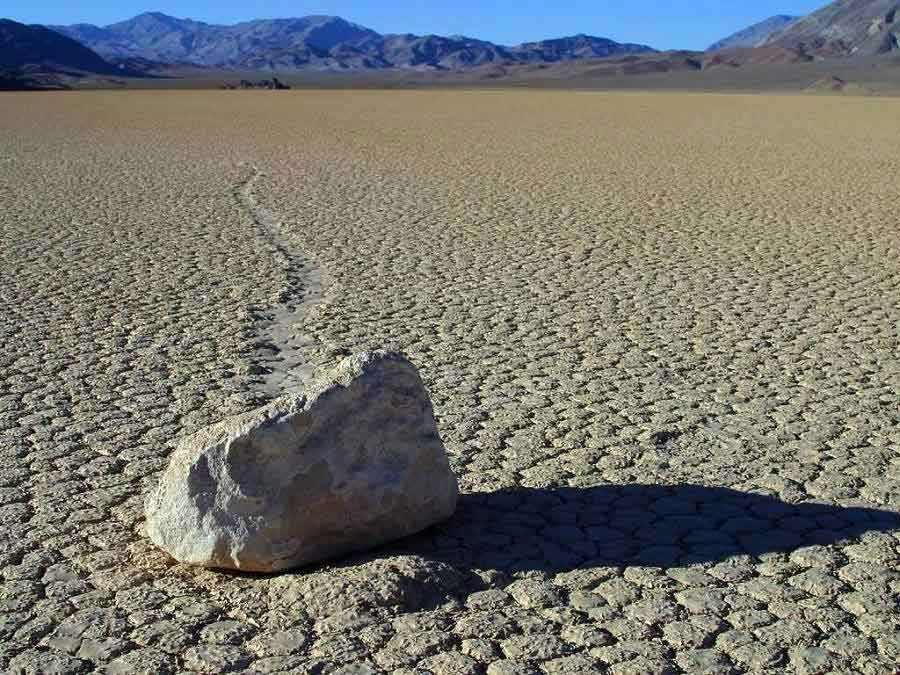 Moving stones