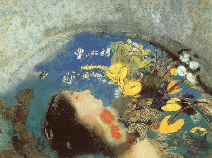 Odilon Redon Ophelia 1910