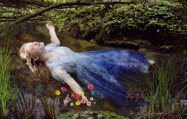 Ophelia Remake By Stephanie Morin